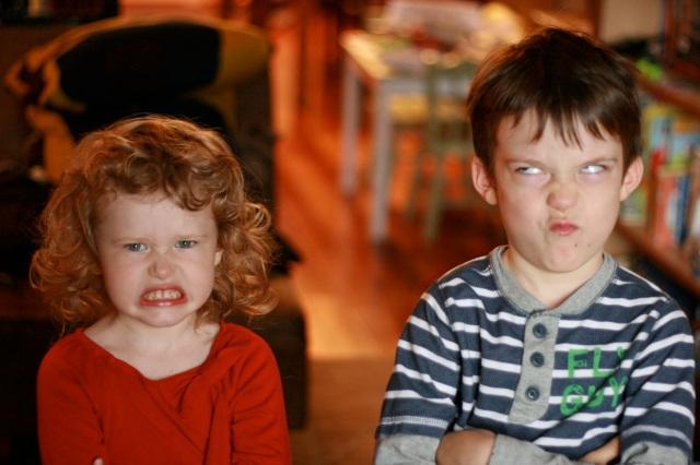 Savoring my grumpy kids!