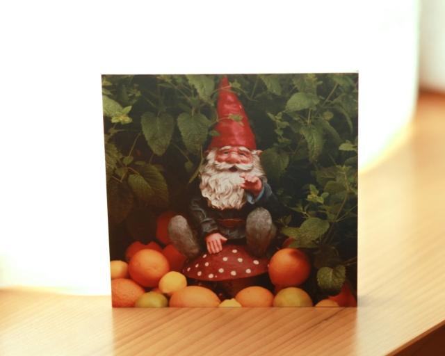 Wood Print: Gnome King